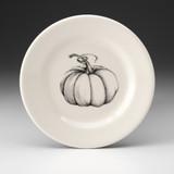 Bistro Plate: Ghost Pumpkin