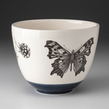 Medium Bowl: Angelwing Butterfly