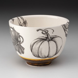Small Bowl: Ghost Pumpkin