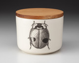 Mini Canister with Lid: Lady Beetle