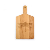 Maple Handle Cheese Board: Dragonfly