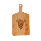 Maple Handle Cheese Board: Heifer