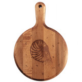Maple Artisan Mirror Board: Nautilus