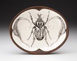 Small Serving Dish: Goliath Beetle