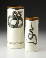 Small Vase: Texas Rat Snake