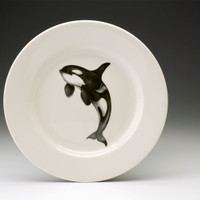 Dinner Plate: Jumping Orca