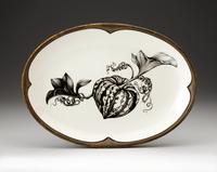 Oval Platter: Carnival Squash