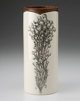 Large Vase: Enoki Bunch Mushroom