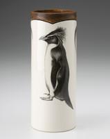 Small Vase: Rockhopper Penguin