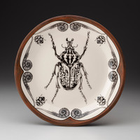 Small Round Platter: Goliath Beetle