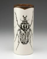 Large Vase: Goliath Beetle