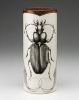 Large Vase: Ground Beetle