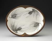 Small Serving Dish: Pine Sprig