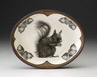 Small Serving Dish: Squirrel