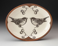 Small Serving Dish: Tree Sparrow