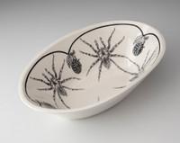 Large Serving Dish: Tarantula Spider