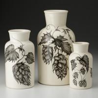 Botanical Hops Set of Jars Laura Zindel Design