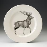 Dinner Plate: Red Buck