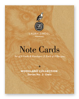 Note Cards: Woodland Collection Owls Cover