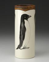 Small Vase: Adelie Penguin
