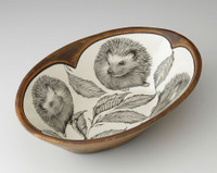 Large Serving Dish: Hedgehog #2