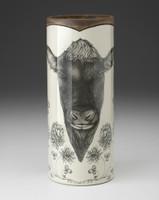 Large Vase: Angus Bull