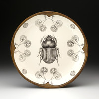 Small Round Platter: Scarab Beetle