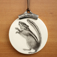 Ornament: Chipmunk #1