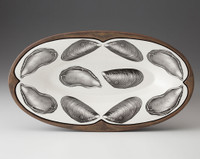 Oblong Serving Dish: Mussels