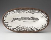 Oblong Serving Dish: Sardine