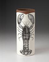 Large Vase: Lobster
