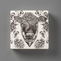 Wall Box: Hereford Cow