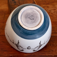 Large Bowl: Red Buck