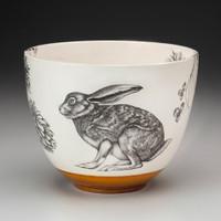 Medium Bowl: Crouching Hare
