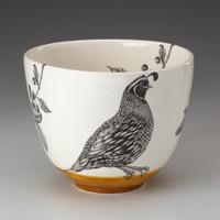Medium Bowl: Quail #1