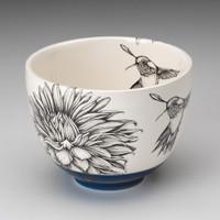 Small Bowl: Hummingbird #2