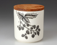 Small Canister with Lid: Blackberry