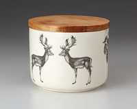 Mini Canister with Lid: Fallow Buck