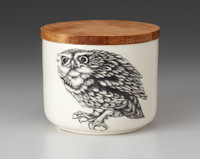 Mini Canister with Lid: Screech Owl #2