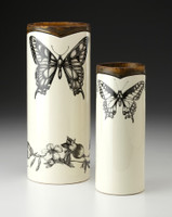 Large Vase: Swallowtail Butterfly