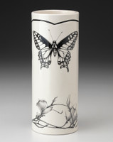 Small Vase: Swallowtail Butterfly