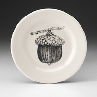 Bistro Plate: Red Oak Acorn