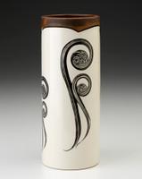 Small Vase: Fiddlehead Fern