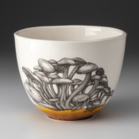 Medium Bowl: Funnel Cap Mushroom