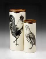 Small Vase: Partridge
