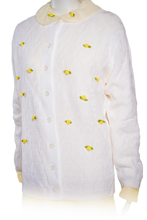 298 ~ Rosebud Sweater Dress