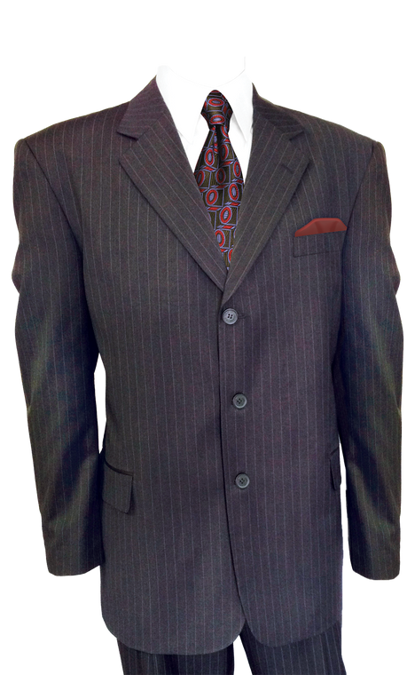 Pinstriped Suits