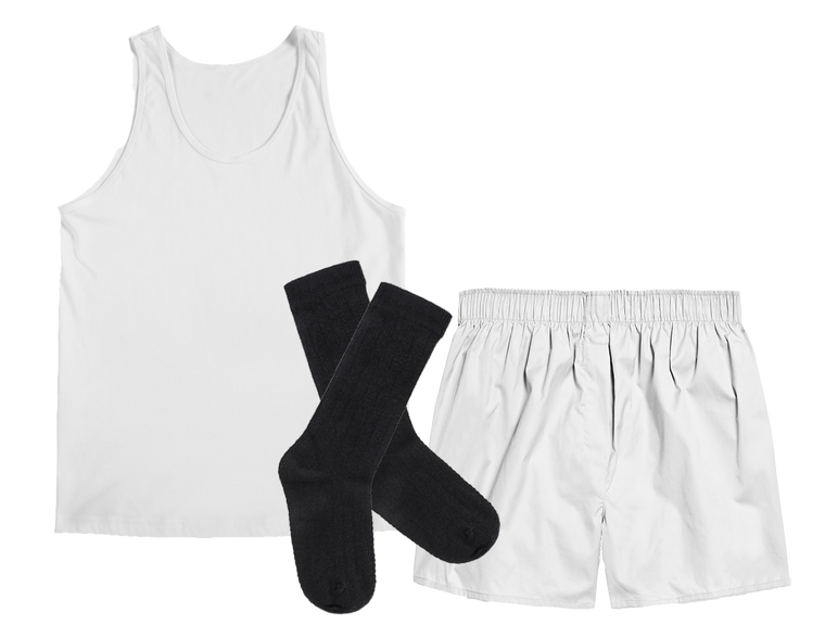 Men's Boxed Boxer Sets with A-Shirt