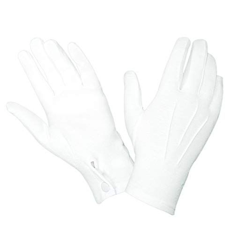 Pall Bearer's Gloves with Snap