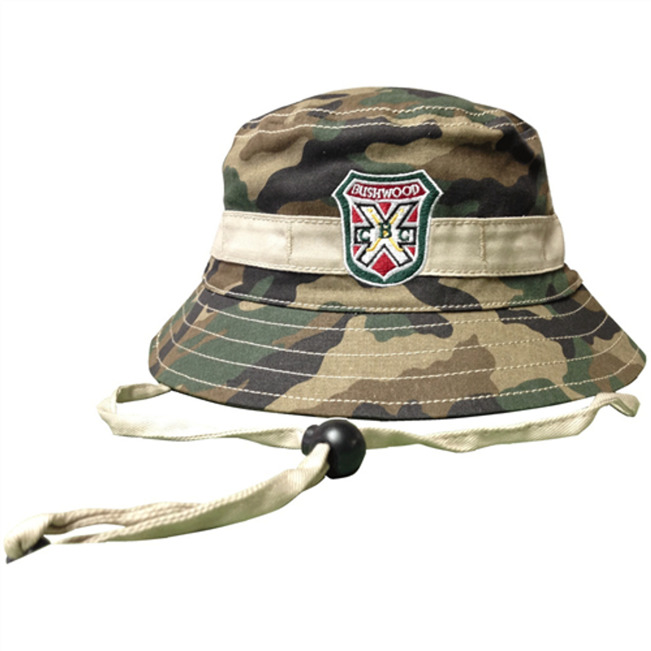 bd997d4efcd Caddyshack Carl Spackler Camo Bucket Hat with Bushwood Logo